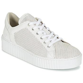 Chaussures Femme Baskets basses Mustang FAMO Blanc cassé