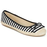 Chaussures Femme Ballerines / babies Wildflower Luck Noir / Blanc