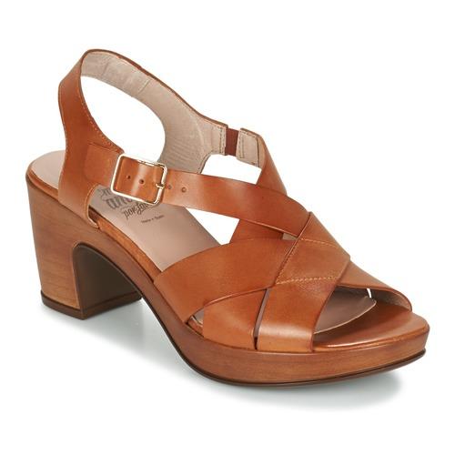 Chaussures Femme Sandales et Nu-pieds Wonders DRESCA Cognac