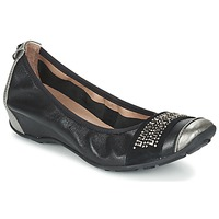 Chaussures Femme Ballerines / babies Mam'Zelle FADILA Noir / Argenté