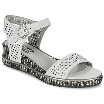 Chaussures Femme Sandales et Nu-pieds Mam'Zelle SELDA Gris
