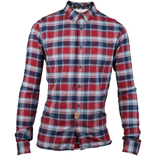 Vêtements Homme Chemises manches longues Caterpillar 2611071 ALLOY SHIRT Red