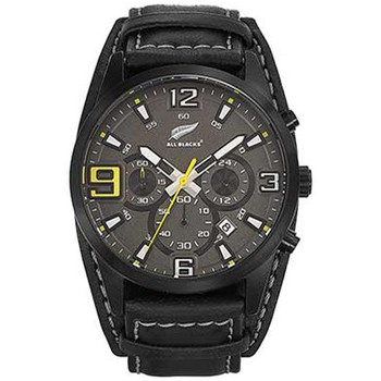Montre All blacks montre all blacks 680298 - montre chronographe noire homme