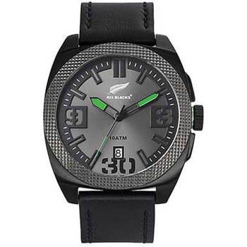 Montre All blacks montre all blacks 680303 - montre ronde acier homme