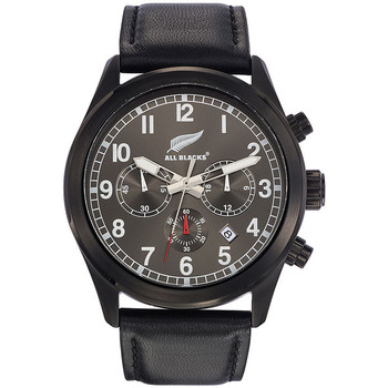 Montres Analogiques All Blacks Montre All Blacks 680322 - Montre Ronde Chronographe Homme