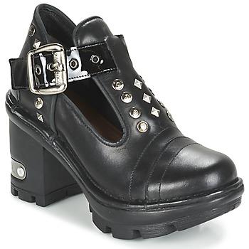 Chaussures Femme Low boots New Rock DEZDO Noir