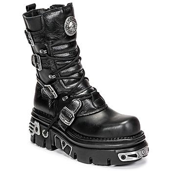 Chaussures Boots New Rock NEMESIS Noir