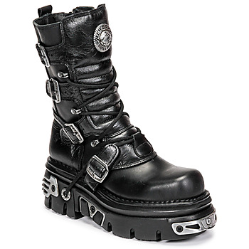 Bottines / Low boots New Rock NEMESIS Noir 350x350