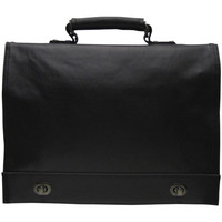 Sacs Homme Cartables Elite Bagages Cartable serviette Elite Noir