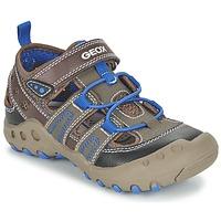Chaussures Fille Sandales et Nu-pieds Geox J SAND.KYLE A Marron