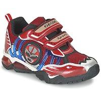 Chaussures Garçon Baskets basses Geox J SHUTTLE B. B Rouge