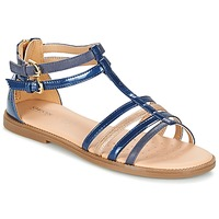 Chaussures Fille Sandales et Nu-pieds Geox J S.KARLY G. D Marine