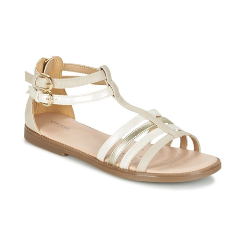 Chaussures Fille Sandales et Nu-pieds Geox J S.KARLY G. D Beige