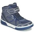 Chaussures Garçon Baskets montantes Geox J ARGONAT B. D Marine