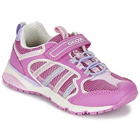 Chaussures Fille Baskets basses Geox J BERNIE G. A Rose / Lila