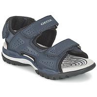 Chaussures Garçon Sandales sport Geox J BOREALIS B. B Marine