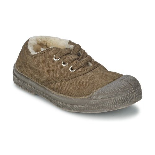 Baskets mode Bensimon TENNIS FOURREES Marron 350x350
