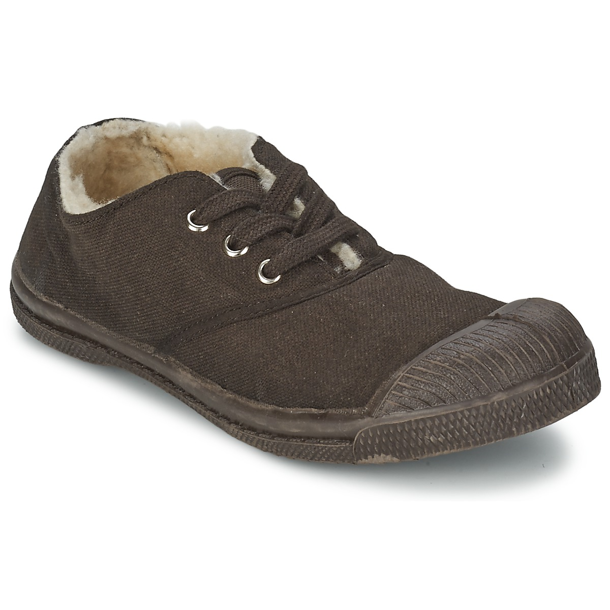 Bensimon TENNIS FOURREES Chocolat