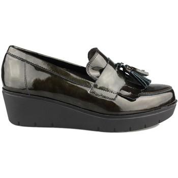 Chaussures Femme Mocassins Kroc MOCASIN CON CUÑA VERDE