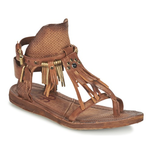 Femme Marron pieds Sandales Nu AirstepA s Et 98 Ramos f6ybgY7
