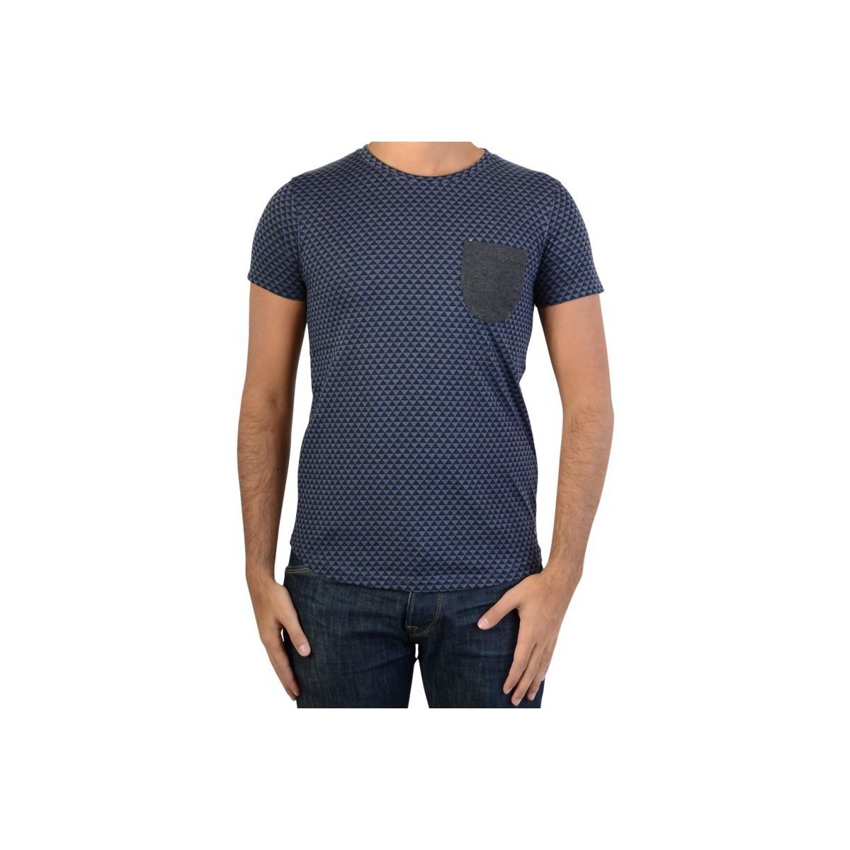 Fifty Four Tee Shirt  B148 Bleu