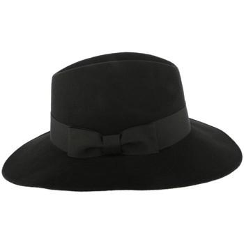 Chapeaux Léon Montane Grand Chapeau Noir Femme Ségur