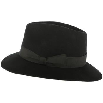 Accessoires textile Chapeaux Léon Montane Chapeau Feutre Noir Duras Noir