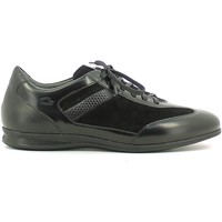 Chaussures Homme Baskets basses Alberto Guardiani SU73433F Sneakers Man Noir Noir