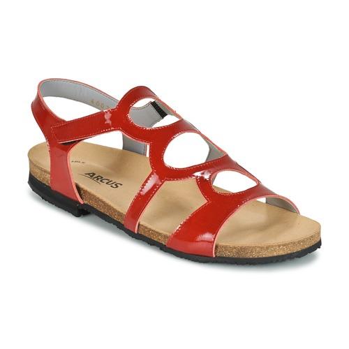 Chaussures Femme Sandales et Nu-pieds Arcus BERNER Rouge