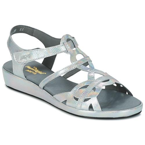 Chaussures Femme Sandales et Nu-pieds Arcus SALON Argenté