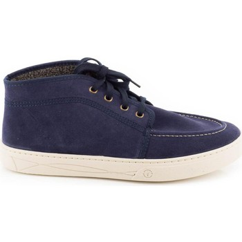 Chaussures Homme Baskets montantes Natural World 822/823 Bleu