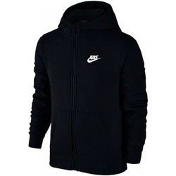 Vêtements Enfant Sweats Nike SW Hoodie FZ Club Junior 805499-010 Noir