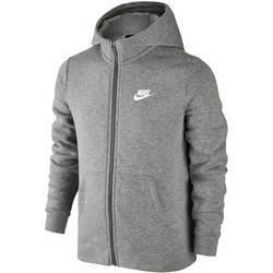 Vêtements Enfant Sweats Nike SW Hoodie FZ Club Junior 805499-063 Gris