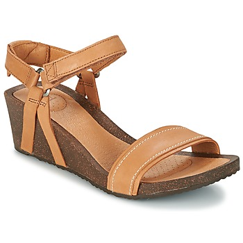 Chaussures Femme Sandales et Nu-pieds Teva YSIDRO STITCH WEDGE Cognac