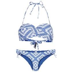 Vêtements Femme Maillots de bain 2 pièces Rip Curl DEL SOL BANDEAU SET Bleu / Blanc