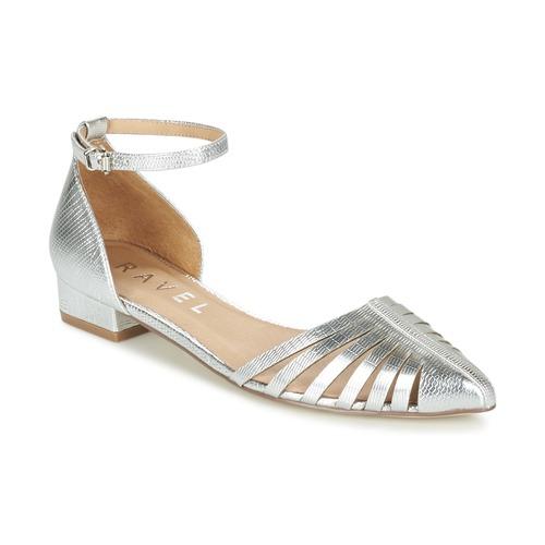 Chaussures Femme Ballerines / babies Ravel MEDINA Argenté