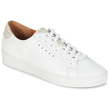 Chaussures Femme Baskets basses MICHAEL Michael Kors IRVING LACE UP Blanc