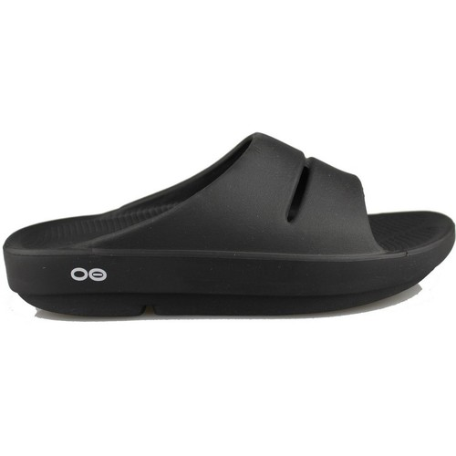 Chaussures Tongs Oofos OOAHH BLACK