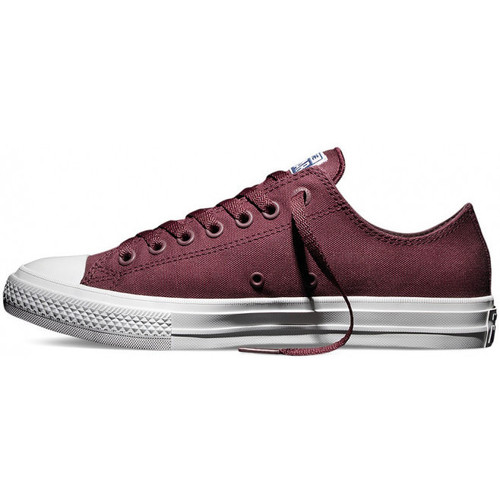 Baskets mode Converse Basket CT Canvas Lo 2 - Ref. 150150C Bordeaux 350x350