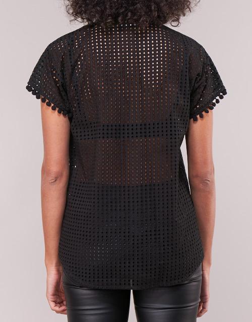 Love Moschino Wcc0480 Noir - Livraison Gratuite- Vêtements Chemises / Chemisiers Femme 18144 2zvu6