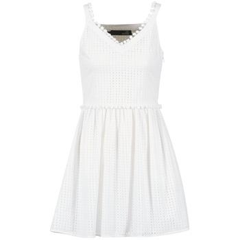 Vêtements Femme Robes courtes Love Moschino WVF3880 Blanc