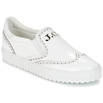 Chaussures Homme Baskets basses John Galliano 2464BA Blanc
