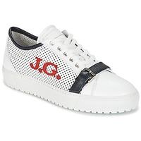 Chaussures Homme Baskets basses John Galliano 2477CA Blanc