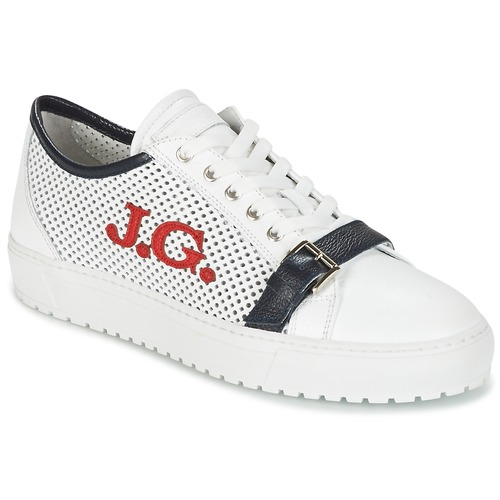 Chaussures Homme Baskets basses John Galliano 2477CA Blanc
