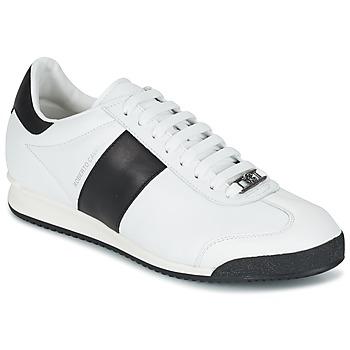 Chaussures Homme Baskets basses Roberto Cavalli 2042C Blanc / Noir
