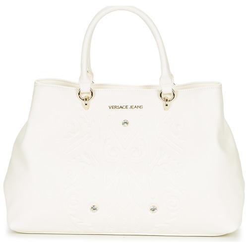 Sacs Femme Sacs porté épaule Versace Jeans E1VPBBF5 Blanc