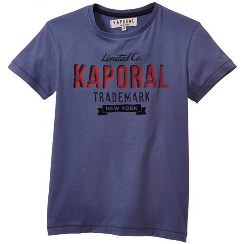 Vêtements Garçon T-shirts manches courtes Kaporal T-Shirt  Coy Stone Bleu