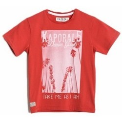T-shirts manches courtes Kaporal T-Shirt  CALIF Hibiscus