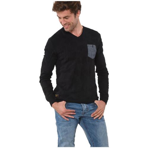Vêtements Homme Pulls Kaporal Pull Homme Tala Black Noir
