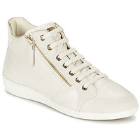 Chaussures Femme Baskets montantes Geox MYRIA Blanc